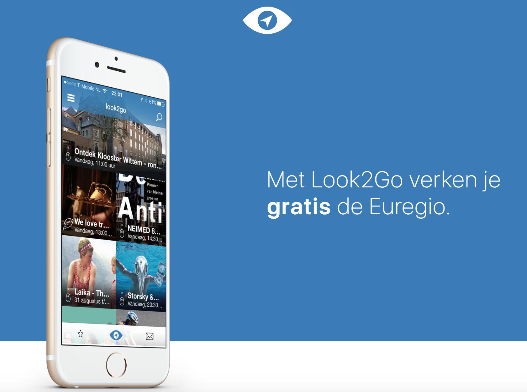Look2Go app social media