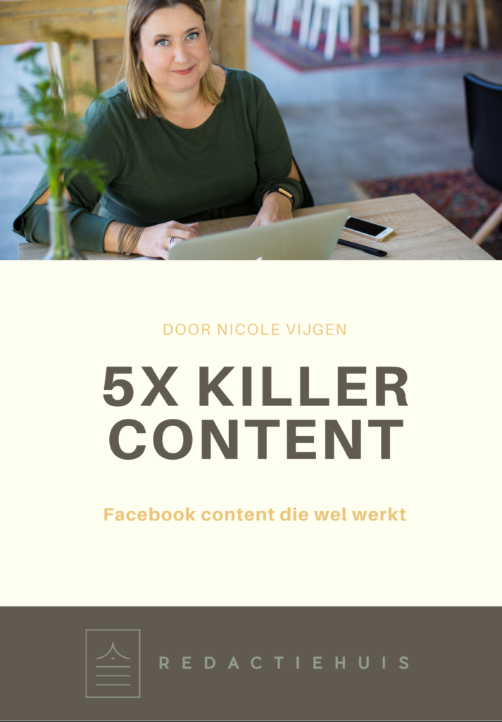 killer content facebook gratis