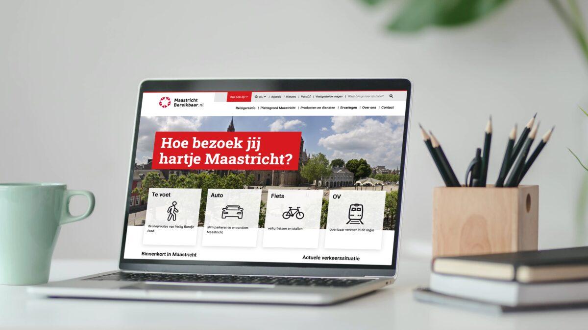 Maastricht bereikbaar teksten schrijven social media