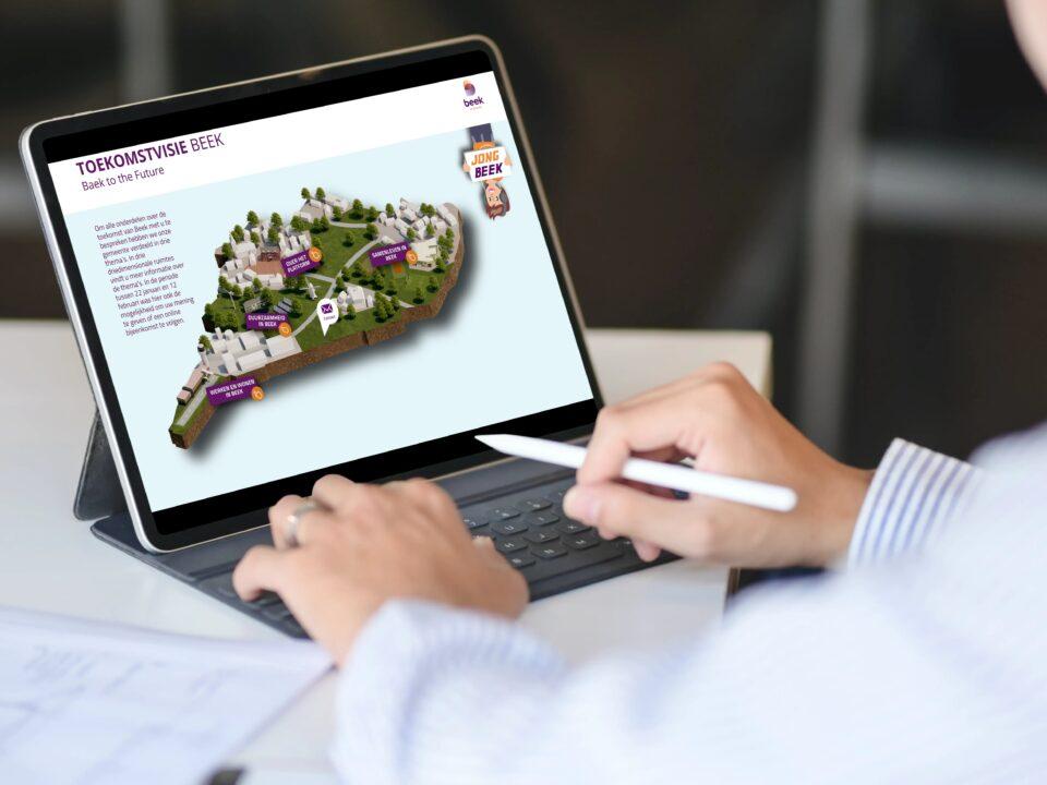 Toekomstvisie Beek online participatie