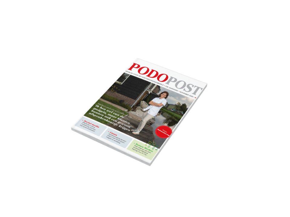 Podopost magazine teksten schrijven