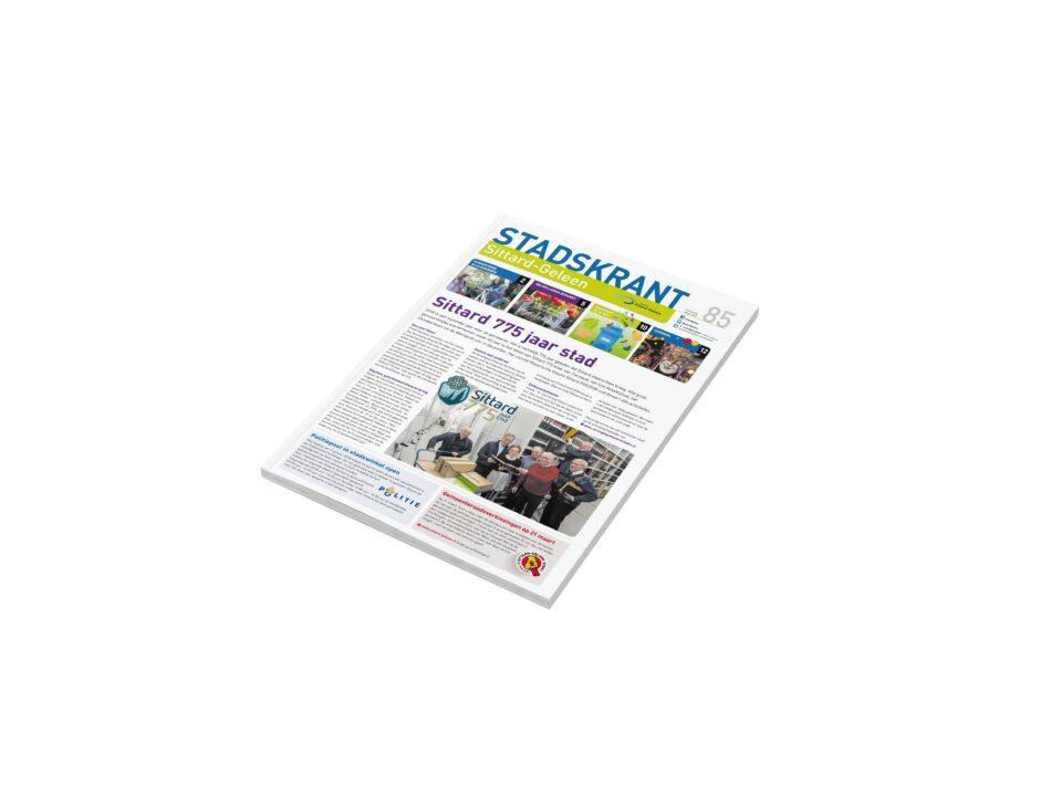 Stadskrant teksten schrijven magazine